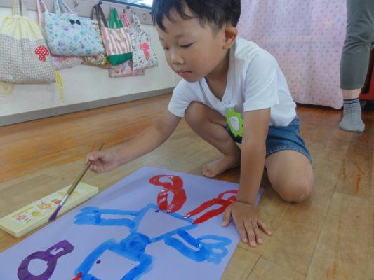 【ゆり組】絵画造形教室