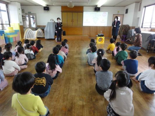 【さくら・すみれ・ゆり】交通教室